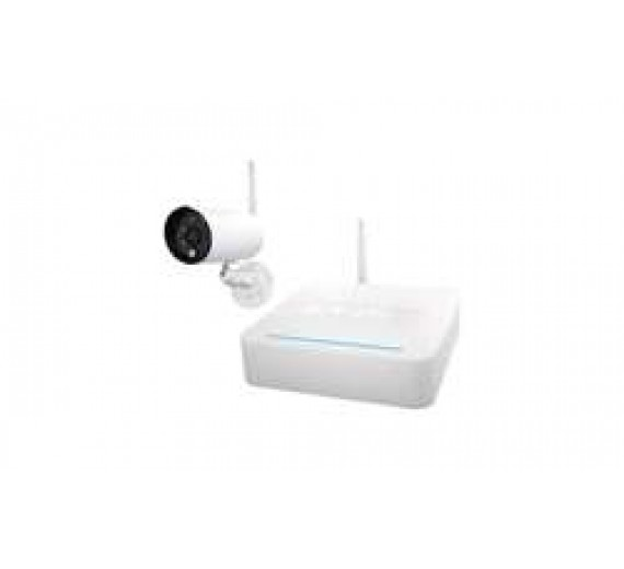 ABUS trådløs videoovervågning med 1 kamera og optager