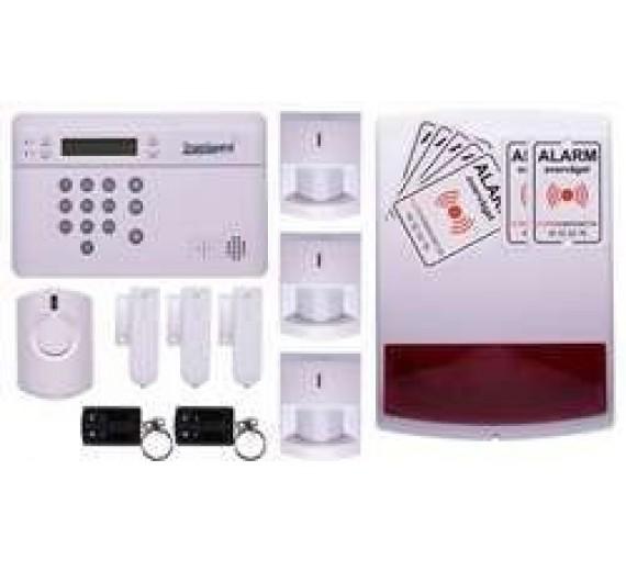 TrueGuard SMART Alarm til hus med sirener og fjernbtj.