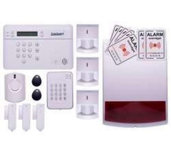 Alarm til hus med sirener og briktastatur TrueGuard PRO+