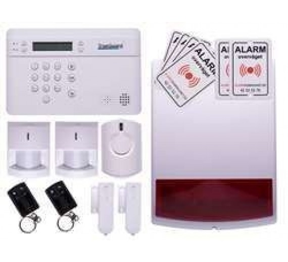 Alarm til rækkehus med sirener TrueGuard PRO+