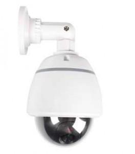 Hvidt dummy kamera i domehus