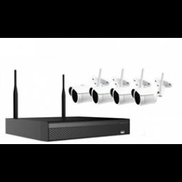 Wifi videoovervågning med 4 wifi kamera-20