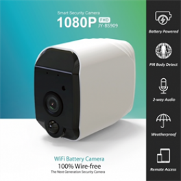 Wifi kamera på batteri udendørs. Helt trådløst-20