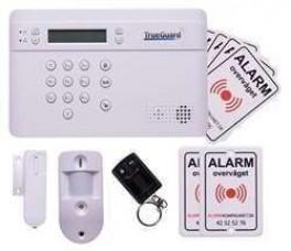 Alarmsystem med kamera TrueGuard PRO+ foto alarm.