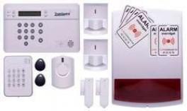 TrueGuard SMART Alarm til rækkehus med brik tastatur og sirener