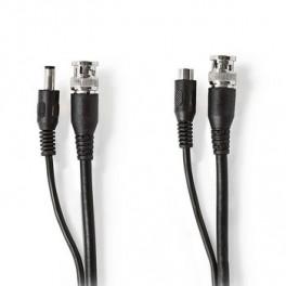Video strøm kabel 20M med BNC stik
