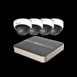 Milesight videoovervågning 4 kamera