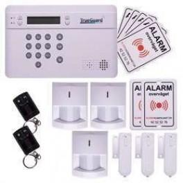 TrueGuard SMART alarm til hus med fjernbetjeninger