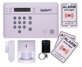 TrueGuard SMART GSM privat tyverialarm
