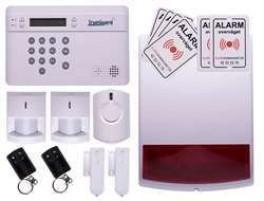 TrueGuard SMART alarm til rækkehus med sirener og fjernbtj.