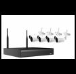 Wifi videoovervågning med 4 wifi kamera