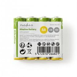 AA Batterier, alkaline. 4-pack